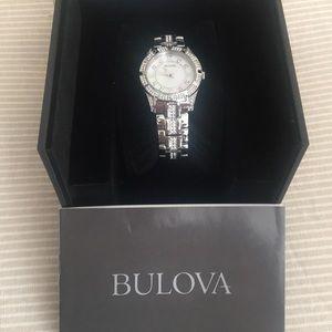 Bulova Swarovski Crystal Watch